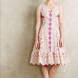Anthropologie Versailles lace dress Soeurs 8